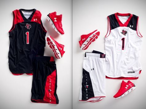 2012-13 Texas Tech Basketball Uniforms...these look really good!! Under Armour is really out-shining Nike and Adidas right now!