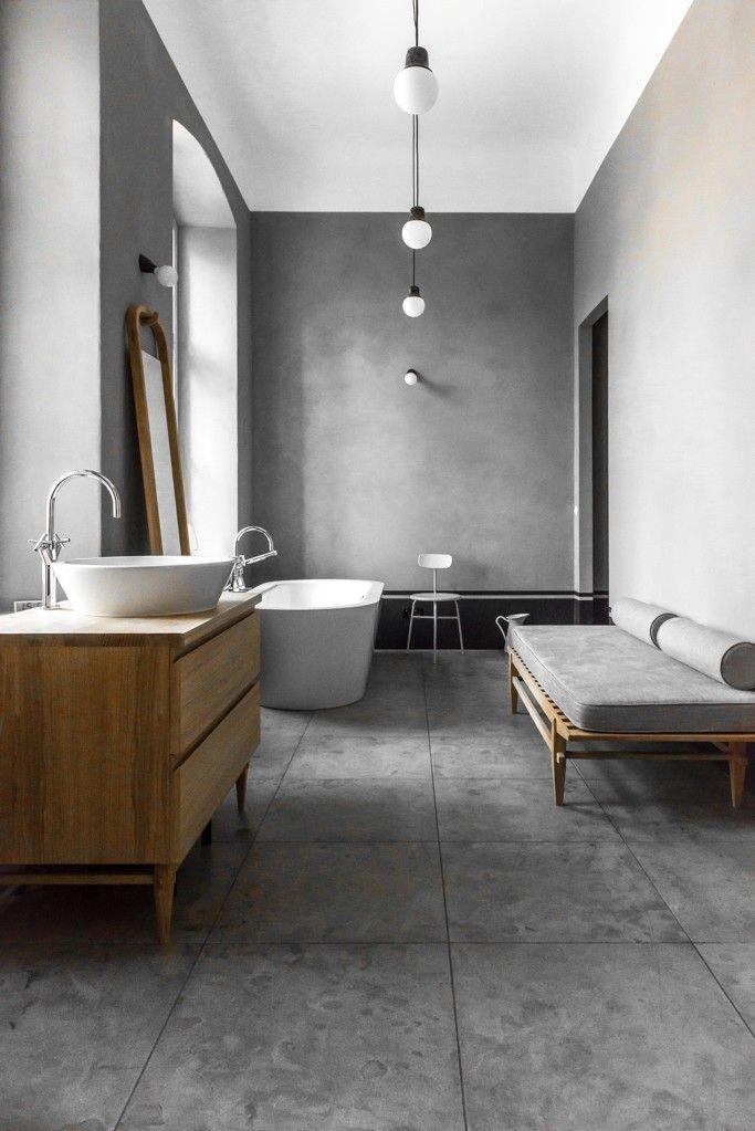 A Berlin house remodel by Jacek Kolaskinski of Polish design firm Loft   Remodelista