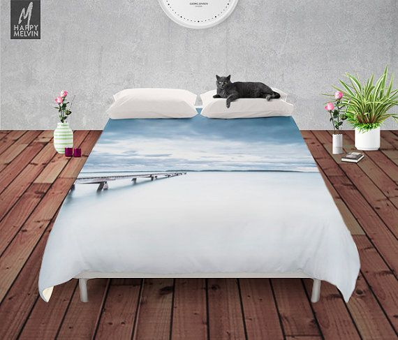 Decorate your bed with this beautiful and popular duvet cover by HappyMelvin.  Duvet covers that feature the original photography and graphics by Ulf