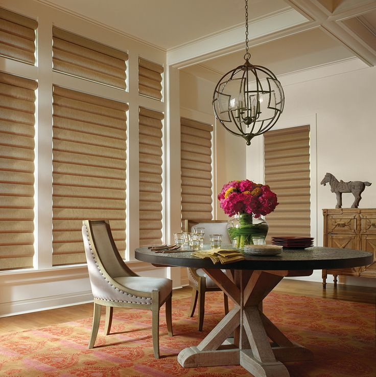17 best images about hunter douglas on pinterest hunter for Window treatment manufacturers