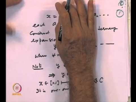 Mod-04 Lec-12 Lebesgue measure and its properties (+playlist)