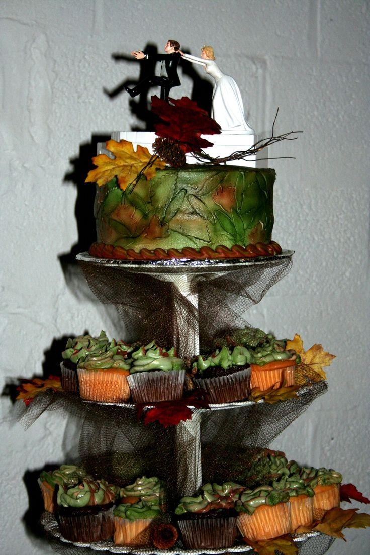 Camo Wedding Cake Quelles astuces pour organiser votre mariage sur http://yesidomariage.com