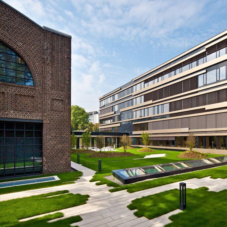 79 best office landscape images on pinterest landscape for Office garden design
