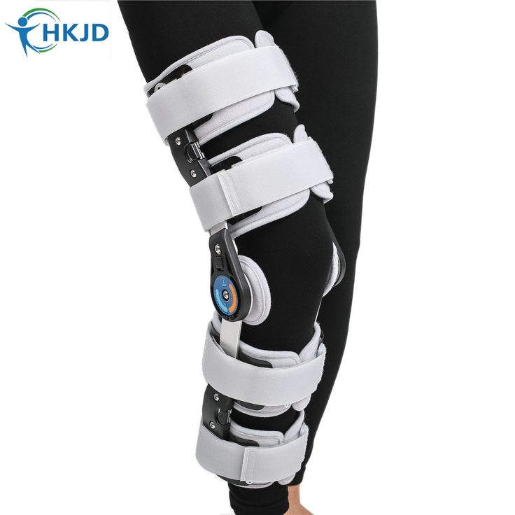 check price orthopedic hinged rom adjustable sports knee brace support splint stabilizer wrap sprain #hinged #knee #brace
