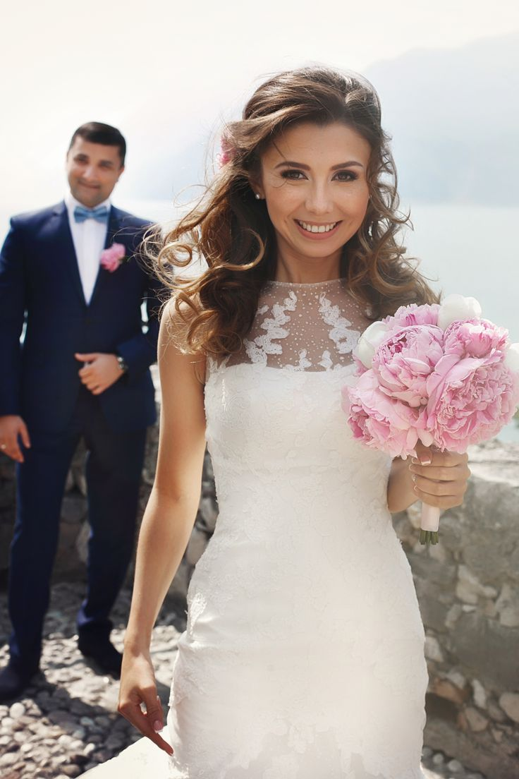 make up artist for a wedding in Garda