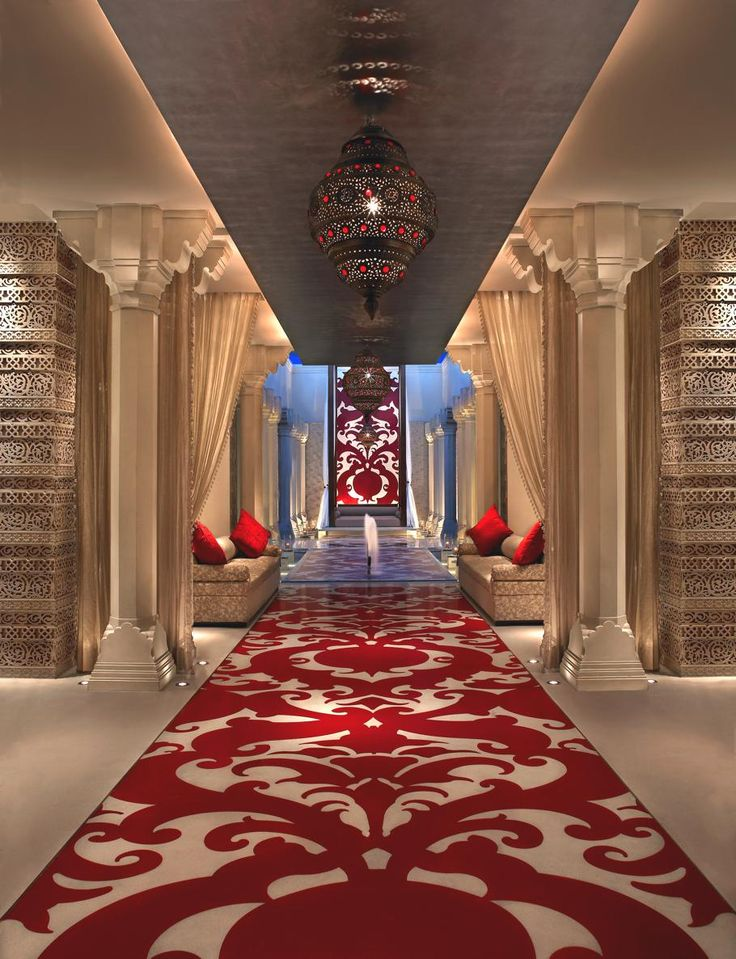 Red & White with Moroccan Themes