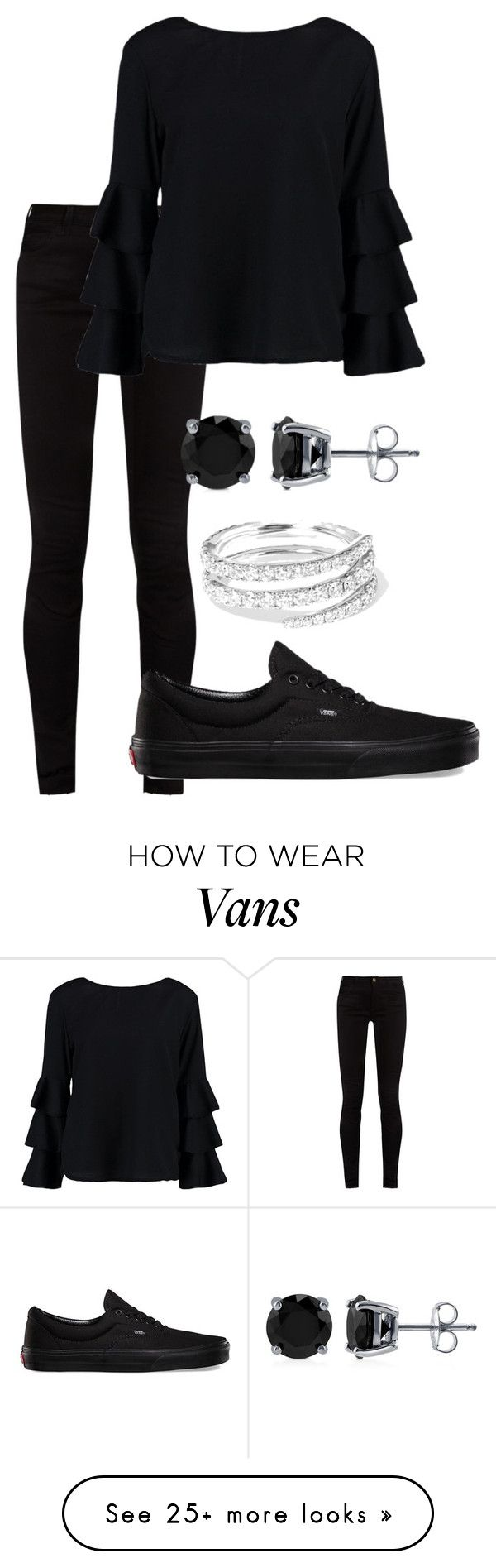 """""""Untitled #415"""" by nehal-esmail on Polyvore featuring Gucci, Vans, Anita Ko, Boohoo and BERRICLE"""