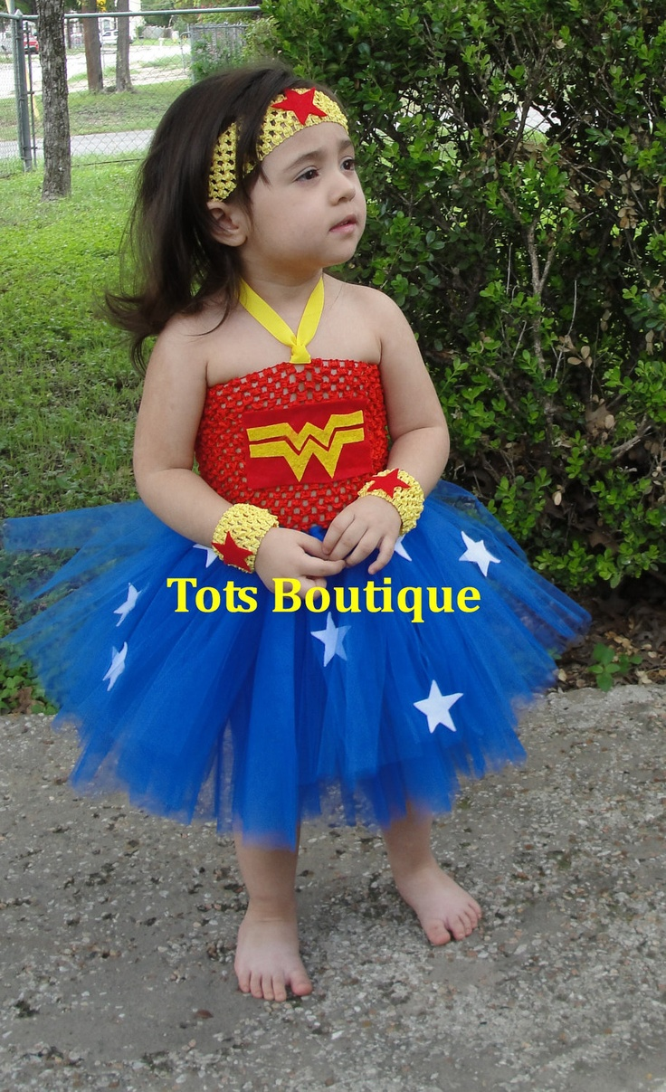 Wonder Woman Toddler Tutu Dress 5500, Via Etsy  Stuff -4547