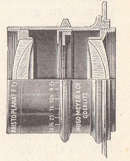 Aplanat zbudowany jest z dwóch achromatów, jednakowych lub różnych, ustawionych symetrycznie względem przysłony. Zastosowanie przysłony pośrodku układu soczewek w obiektywie zapobiega dystorsji.