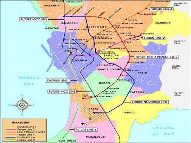 Mega Manila Subway Map.Mega Manila Subway Project Pictures Mega Manila Subway Project