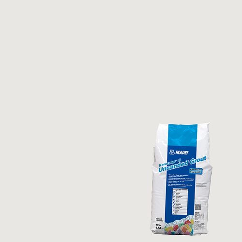 Mapei Keracolor Unsanded Grout 10 lb. Bag - Avalanche