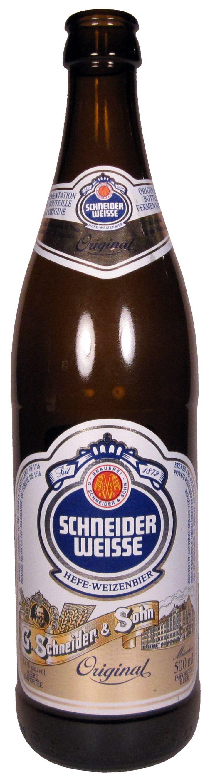 Schneider Hefe-Weizenbier 500ml, 5.4%abv, 7.5