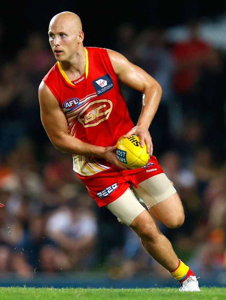 Rucks: Gary Ablett (VC), Gold Coast Suns