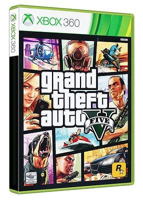 cool Grand Theft Auto 5 GTA V - XBOX 360 GAME - BRAND NEW SEALED - For Sale