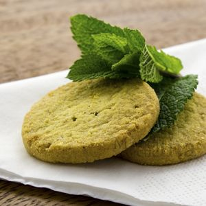 Biscotti alla menta senza burro e senza latte