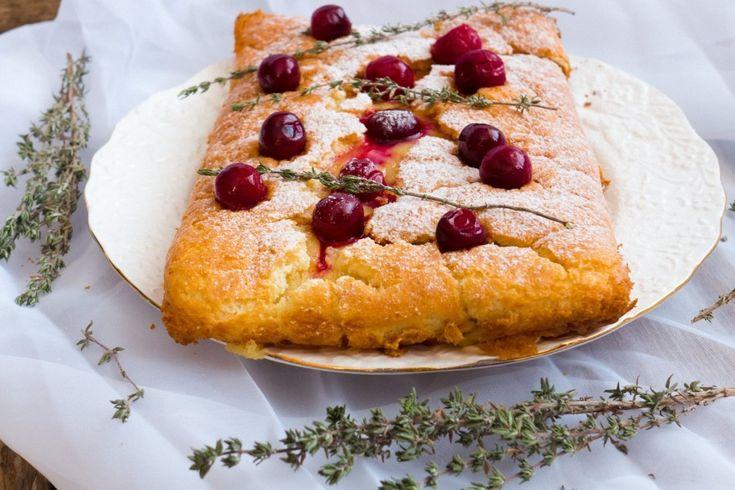 Пирог с нежным заварным кремом.: milaoz