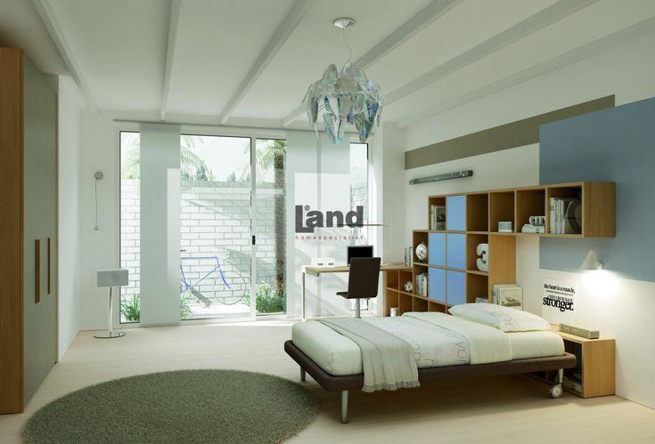 Size özel genç odaları. Land Modern Genç Odası.  http://www.land.com.tr/genc-odasi-urunler/modern-genc-odasi