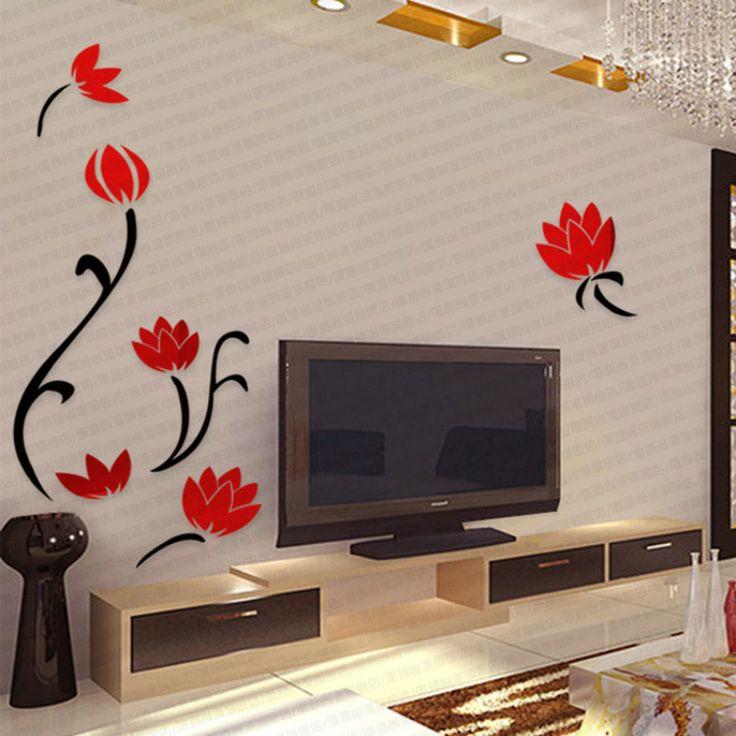 Bedroom Curtains Small Windows Bedroom Wallpaper And Matching Bedding Diy Wall Art Ideas Bedroom Bedroom Design Kids: Best 25+ Flower Mural Ideas On Pinterest