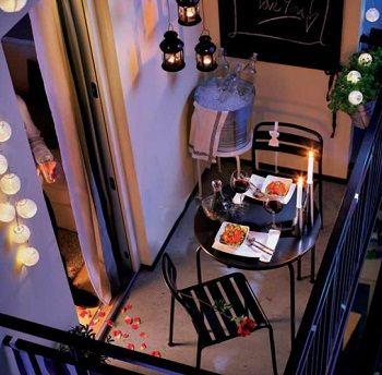 Balcones para disfrutar de noche