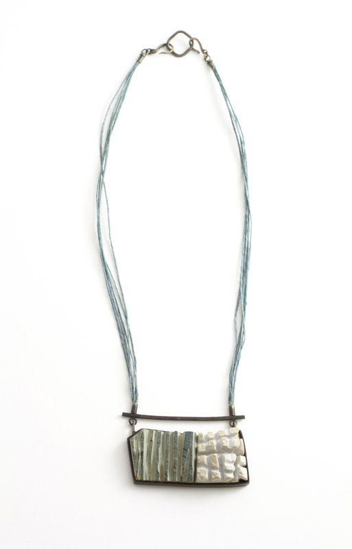 Necklace, Tova Lund. this would be interesting w/ glass, stone - metals, rivets.
