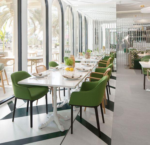 Shababeek Emiratos Arabes Unidos Modern Restaurant Design Top Kitchen Designs Modern Restaurant