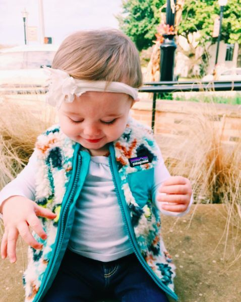 Patagonia Baby Retro-X Vest- Fern Dell Small- Toasted White from Shop Southern Roots TX