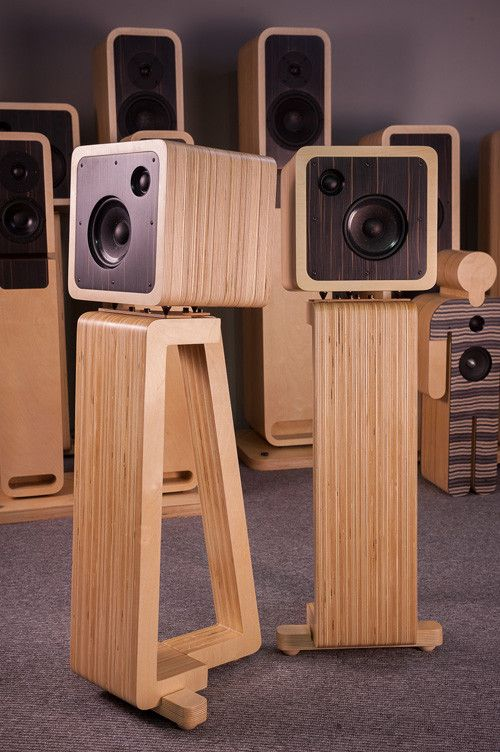 8 Great DIY Speaker Stand Ideas that Easy to Make | Diy ...