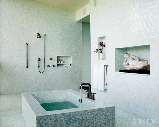 Art Exhibition A Fantasy Home on a Tropical Island Mosaic BathroomMosaic TilesMosaicsAsian