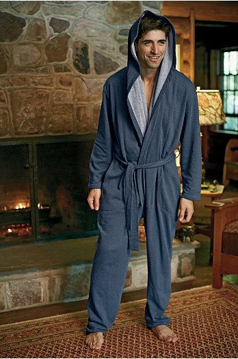 Man Zone™ Snuggler Loungewear Onesie for Men   UnderGear - he he l want one!