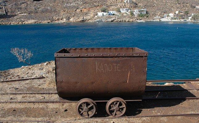 Παλαιό βαγονέτο στο Μεγάλο Λιβάδι! http://diakopes.in.gr/afieromata/dutikeskyklades/article/?aid=208338 #travel #serifos #island #greece
