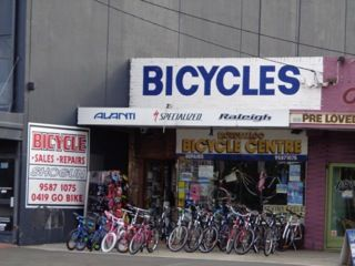Bicycle shop in Mordialloc