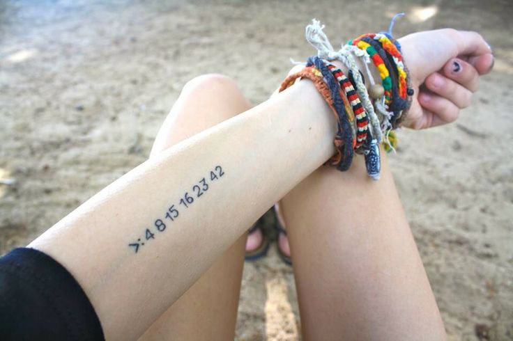 Yes I do have TONS of LOST tattoos on my LOST board but this is the one I'm gonna get no doubt the numbers mean to much to me not to get it