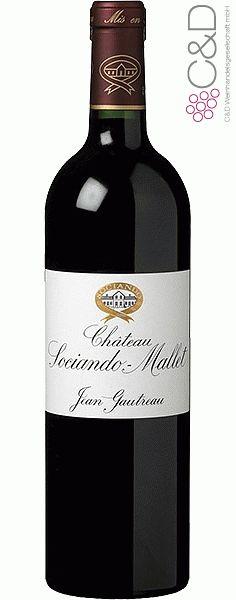 Folgen Sie diesem Link für mehr Details über den Wein: http://www.c-und-d.de/Bordeaux-Haut-Medoc/Chateau-Sociando-Mallet-2007-Haut-Medoc_41727.html?utm_source=41727&utm_medium=Link&utm_campaign=Pinterest&actid=453&refid=43 | #wine #redwine #wein #rotwein #haut-medoc #frankreich #41727