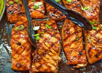 Ma marinade à la cassonade, c'est la meilleure! Votre saumon n'aura jamais eu si bon goût