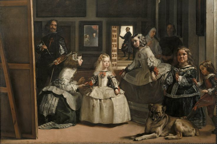 Grieving after the death of her father, a painter, the author vowed not to even look at art ever again. Then she found herself standing before 'Las Meninas,' and everything changed.