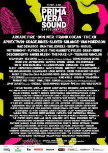 Primavera Sound 2017 desvela cartel: Arcade Fire The XX Bon Iver Frank Ocean y más