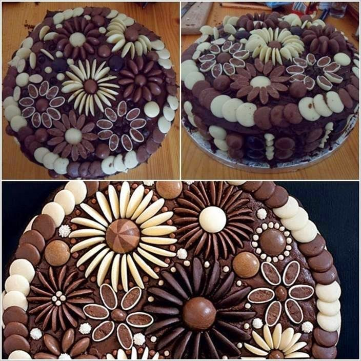 If you like baking cakes or cupcakes and wondering how to decorate them in an easy way, you can use chocolate buttons! Description from pinterest.com. I searched for this on bing.com/images