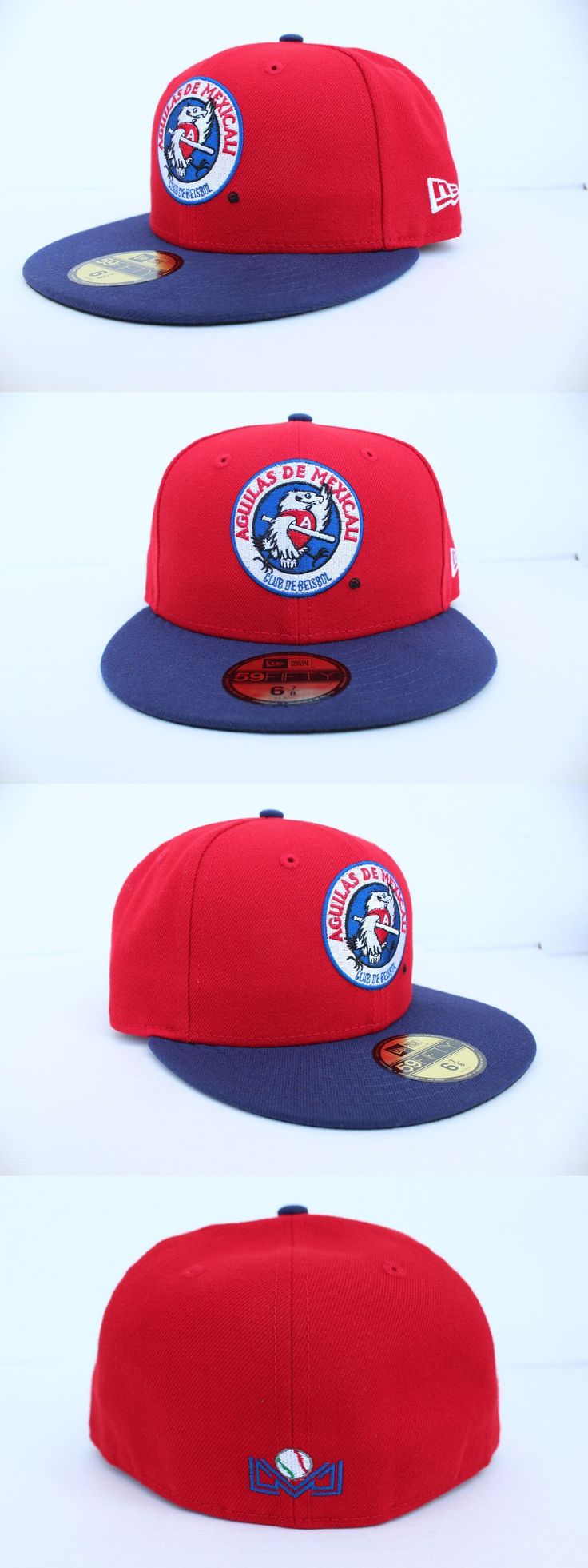 Baseball-Other 204: Aguilas De Mexicali Lmb New Era 59Fifty Alternate Fitted Hat - Red Navy -> BUY IT NOW ONLY: $39.95 on eBay!