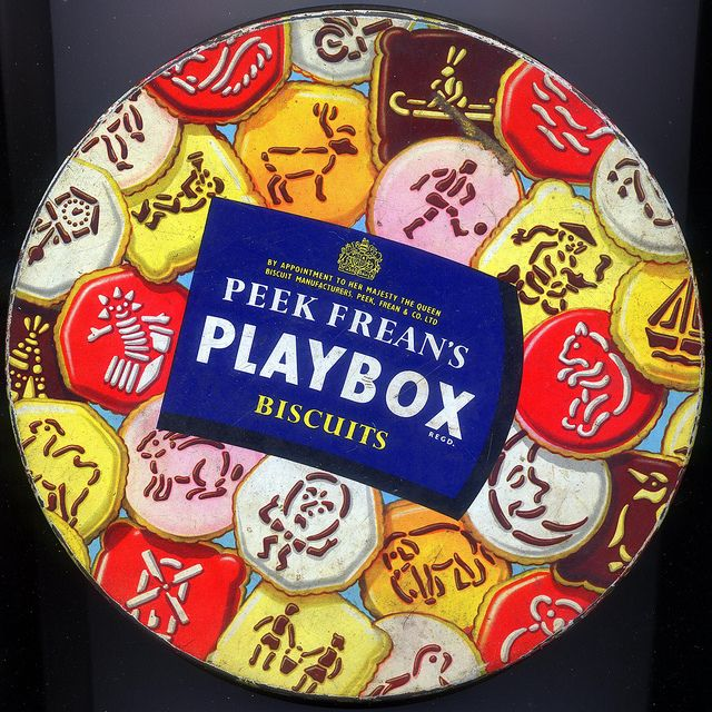 Peak Frean's Playbox biscuits by daviddb, via Flickr