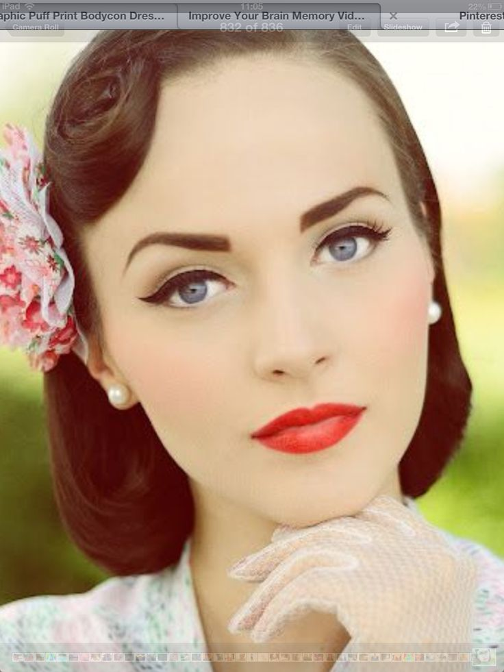 208 best Hair, Vintage Pin-Up images on Pinterest