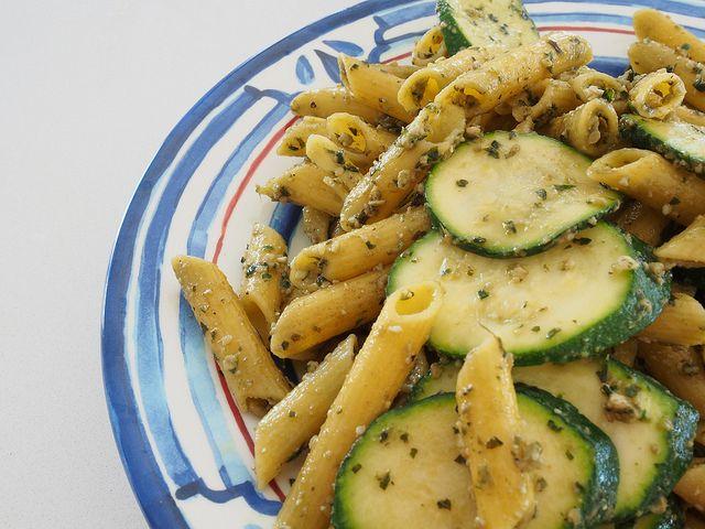green pasta (gluten + dairy free)
