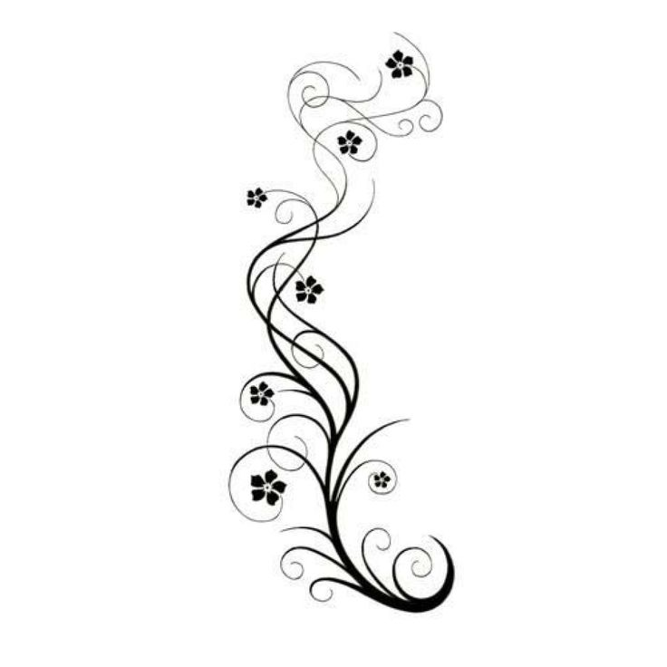 Swirly Vine Tattoos Art Design – Great Tattoo Design