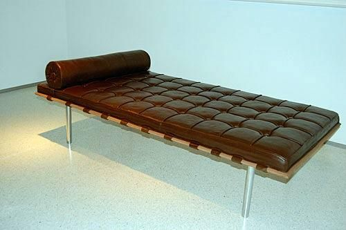 Edible Chocolate Couch by Argentinian artist Leandro Erlich