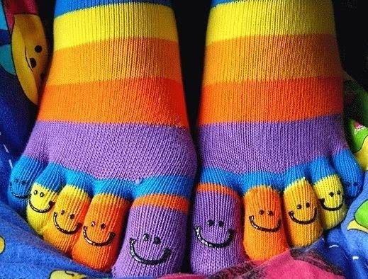 Five finger socks