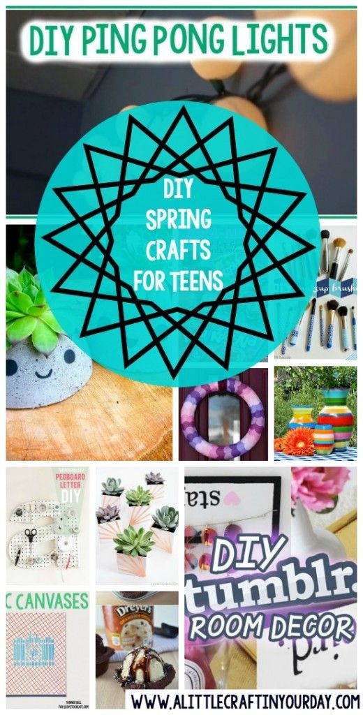 DIY Spring Crafts for Teens - A Little Craft In Your DayA Little Craft In Your Day