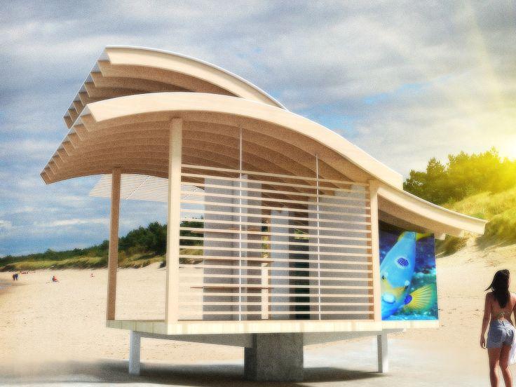 Anteproyecto Ecotienda,Playa Cristal o Playa del Muerto en Santa Marta, Magdalena