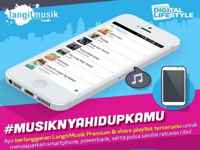 program musiknya hidup kamu berhadiah smartphone dari langit musik