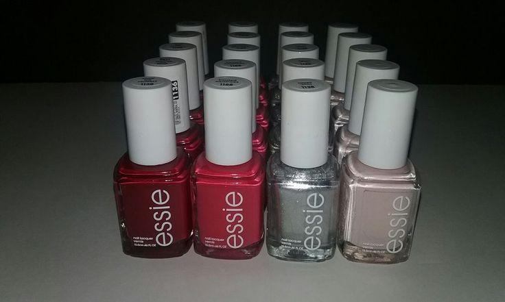 20 ESSIE Wholesale Nail Polish PINK + mix Baby Bridal Shower Party Favor  LOT C #Essie