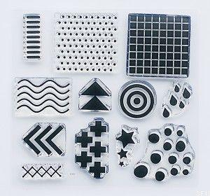 """""""Patterns 1"""" -stamp set #4"""