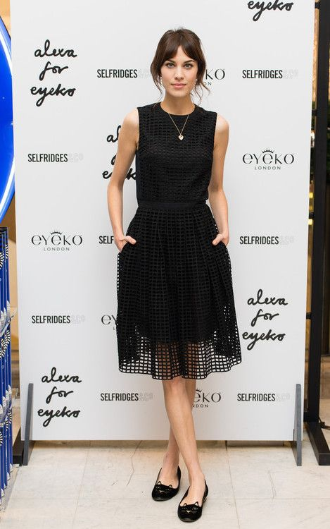 alexastyle: Alexa Chung attends a photocall to Launch her new...
